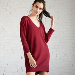 Express London Sweatshirt Dress